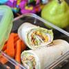 Back to School Lunch Ideas from Emeals + Turkey Bacon Tortilla Roll Ups #recipe