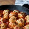 Paleo - Turkey-Bacon Meatballs with Tomato Sauce