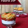 Sombrero Fiesta Dip Cups #Recipe
