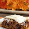 Chocolatey Pecan Pie Harvest Bars + Fall Party
