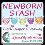 Newborn Cloth Diaper Stash Giveaway