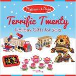 Melissa and Doug's Terrific Twenty List and Giveaway