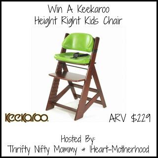 Keekaroo Height Right Kids Chair Giveaway