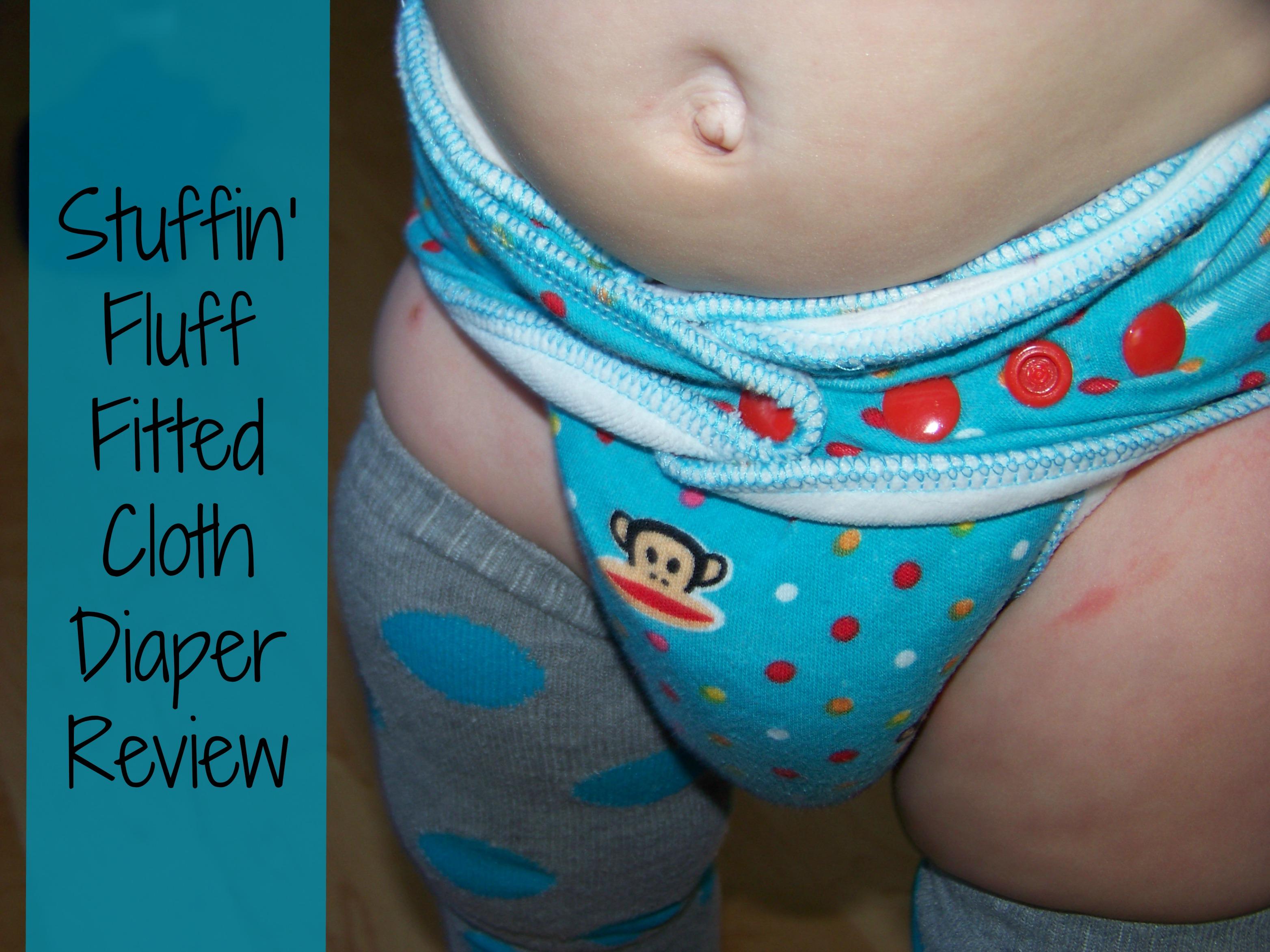 Stuffin' Fluff fitted cloth diaper