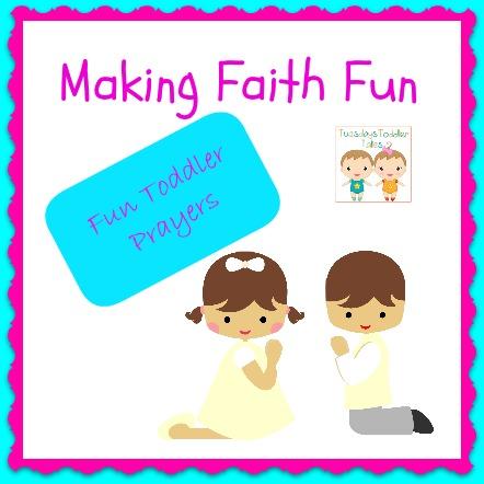 Making Faith Fun, Toddler Prayers