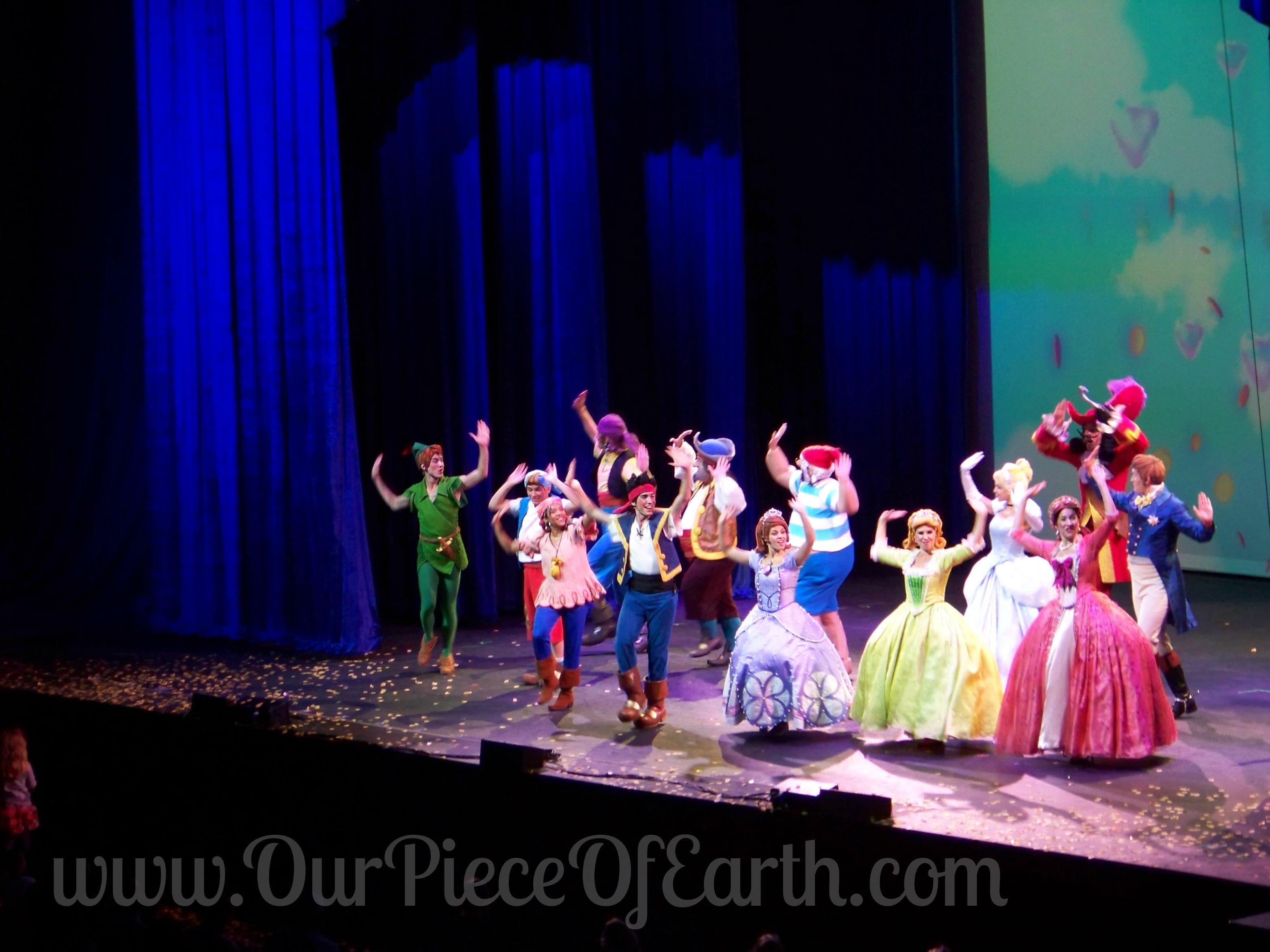 Disney Live Pirate and Princess Adventure cast