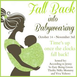 Fall Back Into Babywearing
