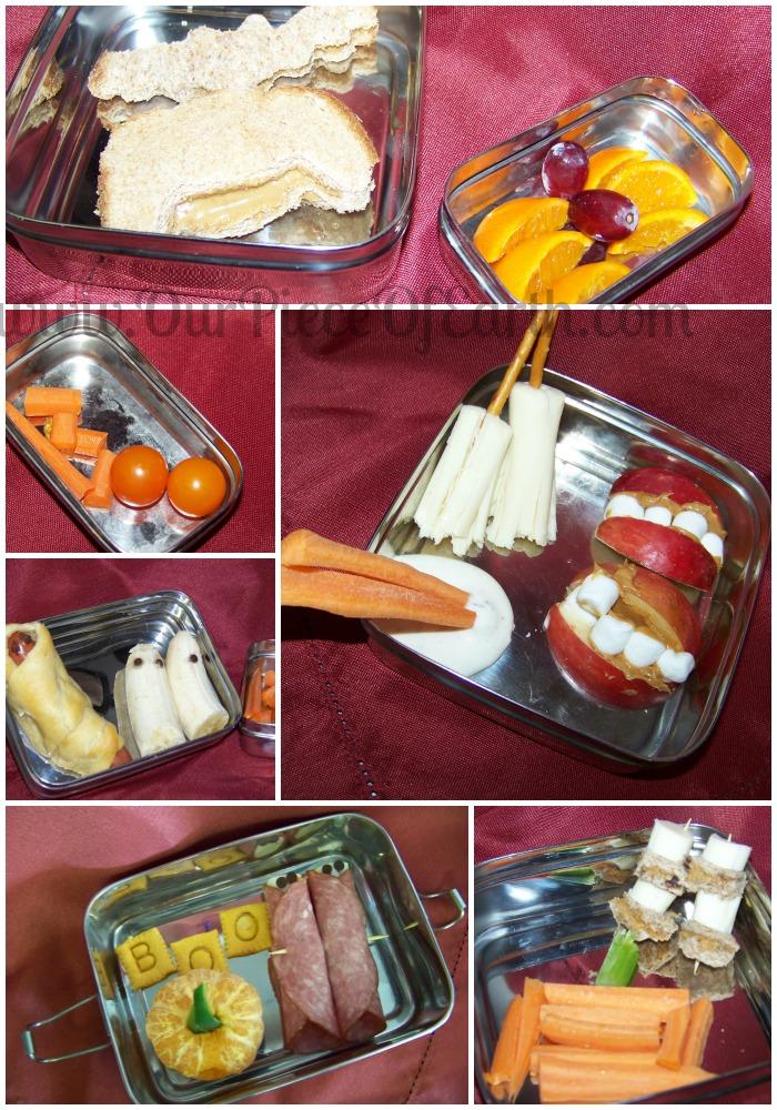 Halloween Bento Lunch Ideas