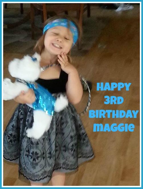 Maggie's 3rd birthday