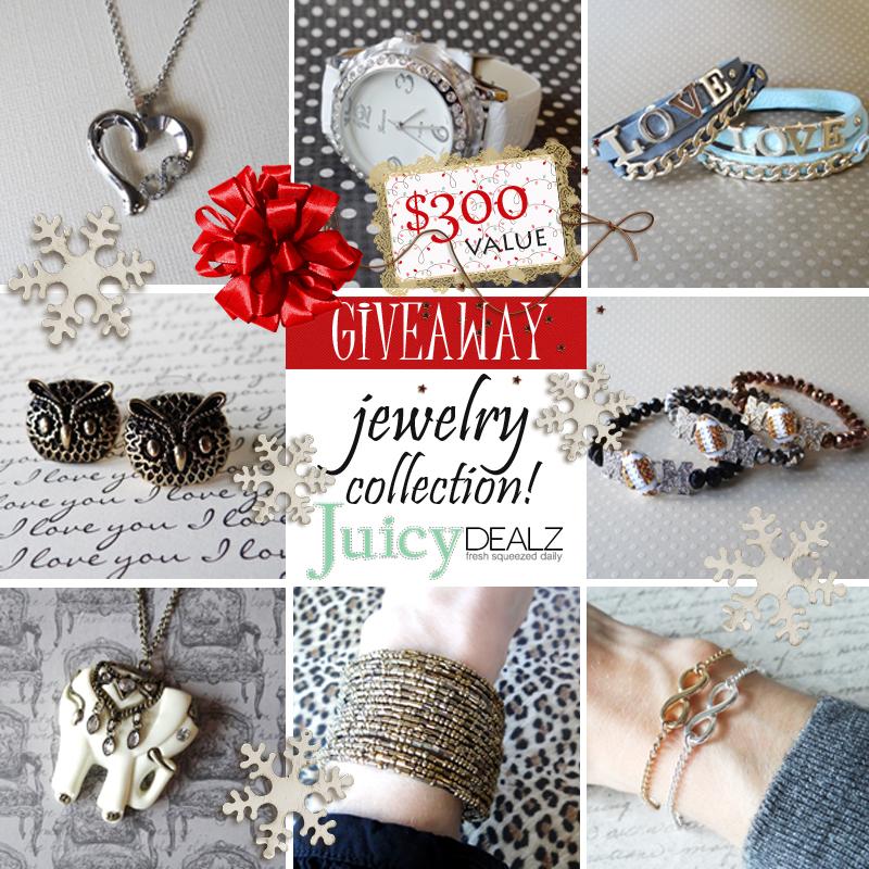 JuicyDealz Holiday Giveaway Creative