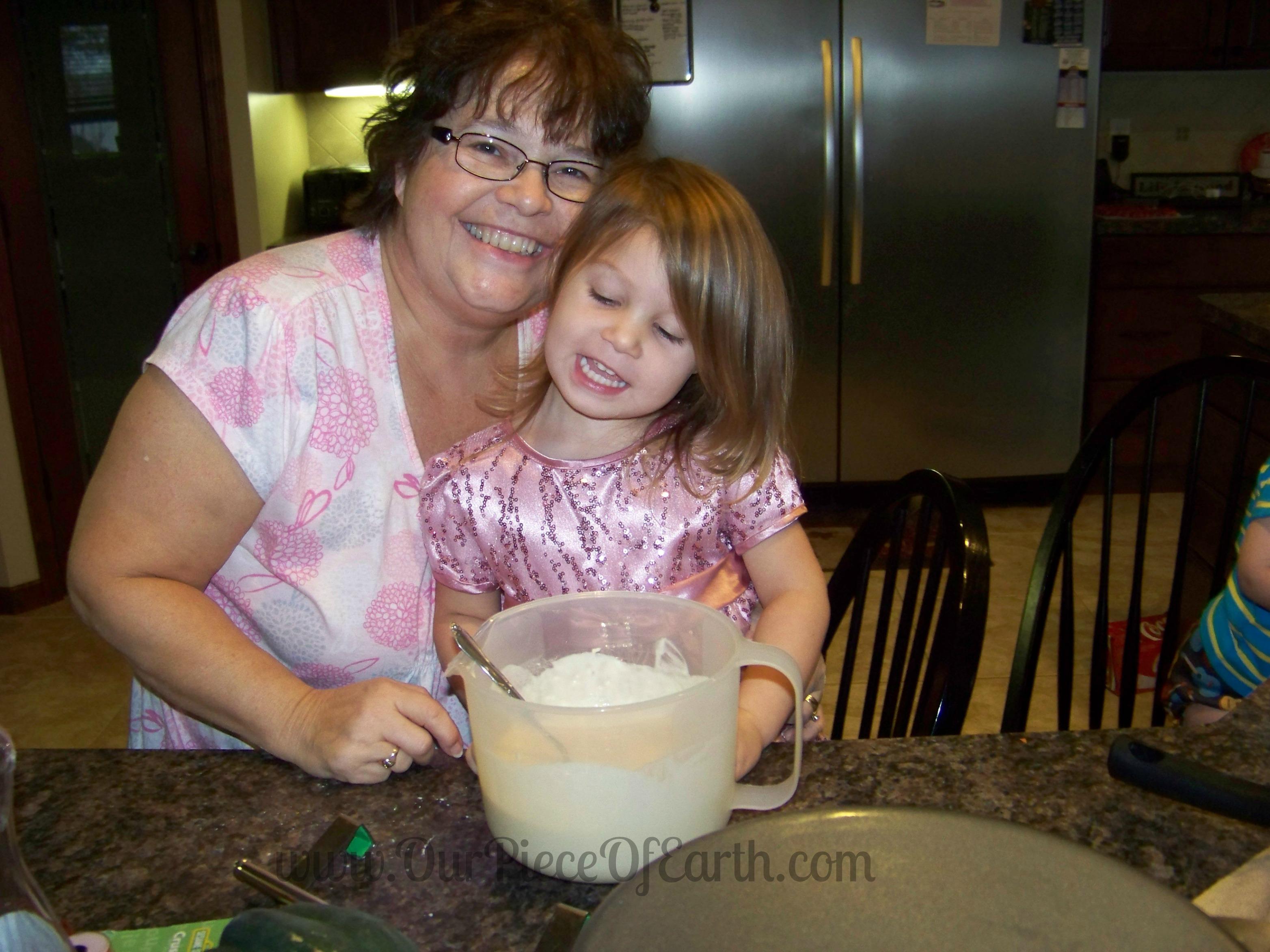 Maggie and Grandma