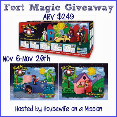 Fort Magic Giveaway