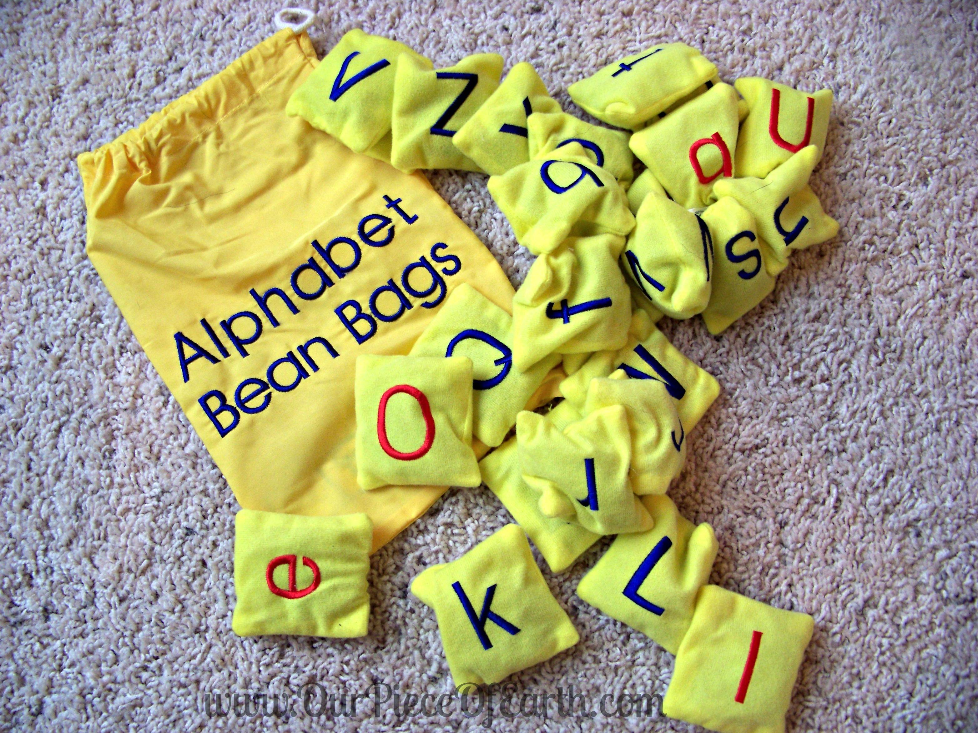 Alphabet Bean Bags Educational Insights