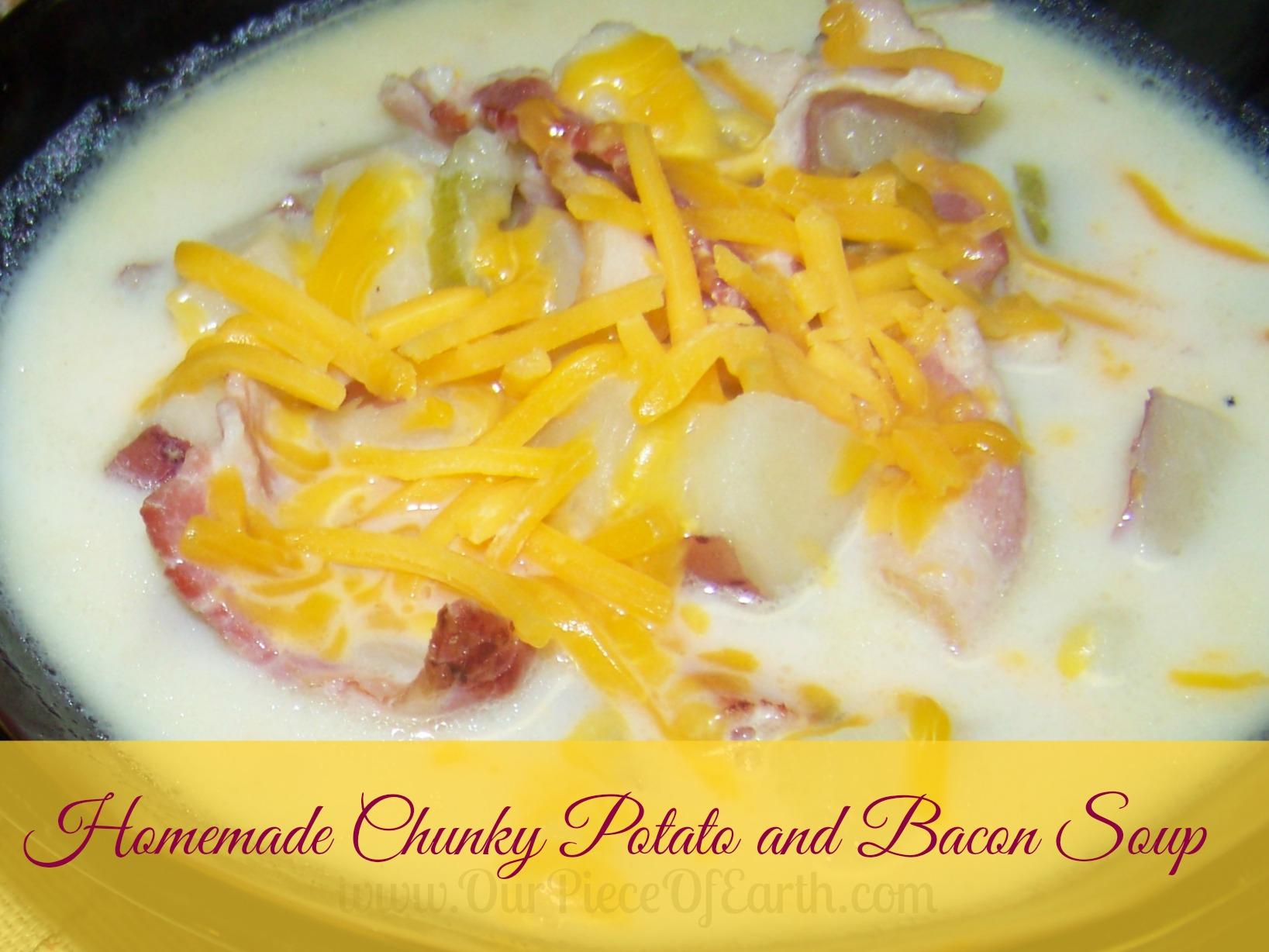 Homemade Chunky Potato Soup