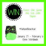 #NaturalNewYear Rarpz diapers giveaway