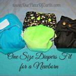 Choosing a one size diaper for newborns + Rarpz review