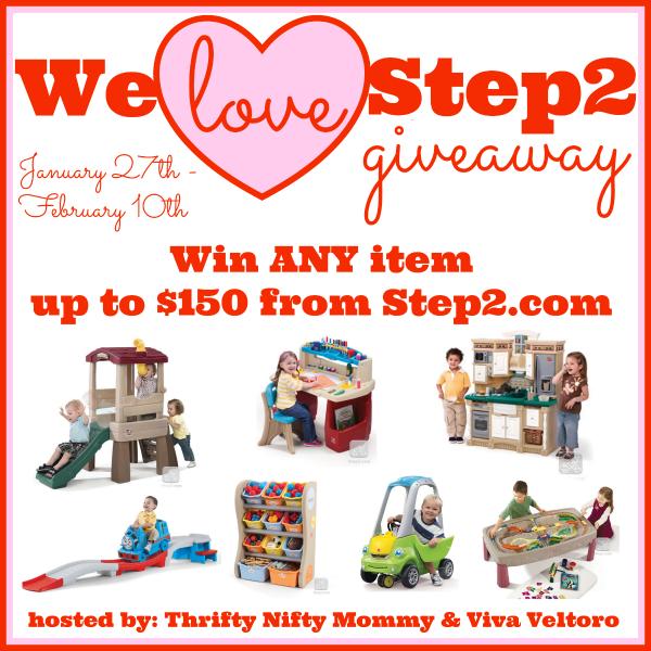 Step2 giveaway