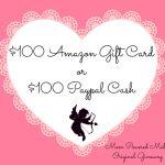 $100 Amazon/Paypal Cash