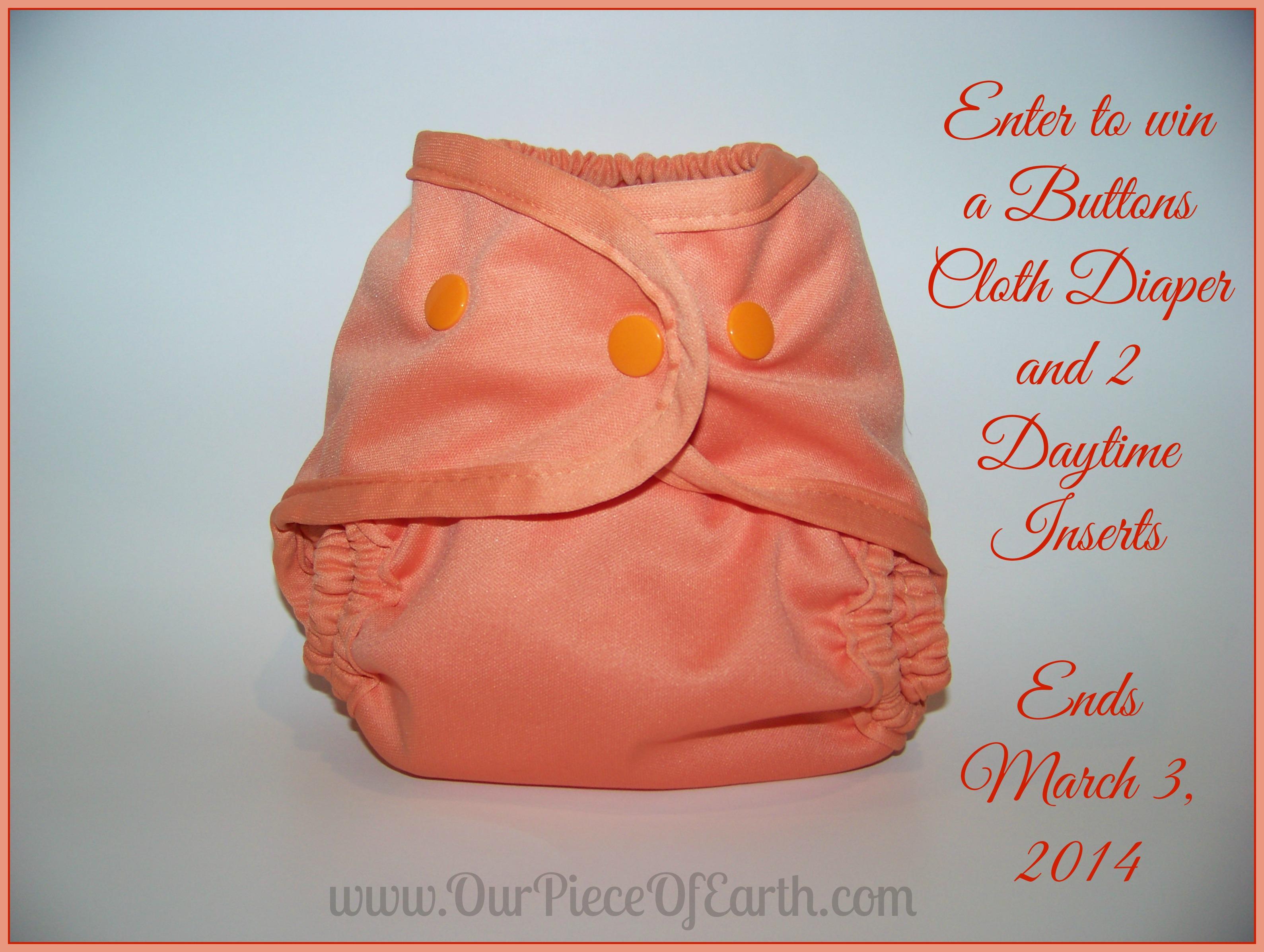 Buttons cloth Diapers, Budget cloth diaper