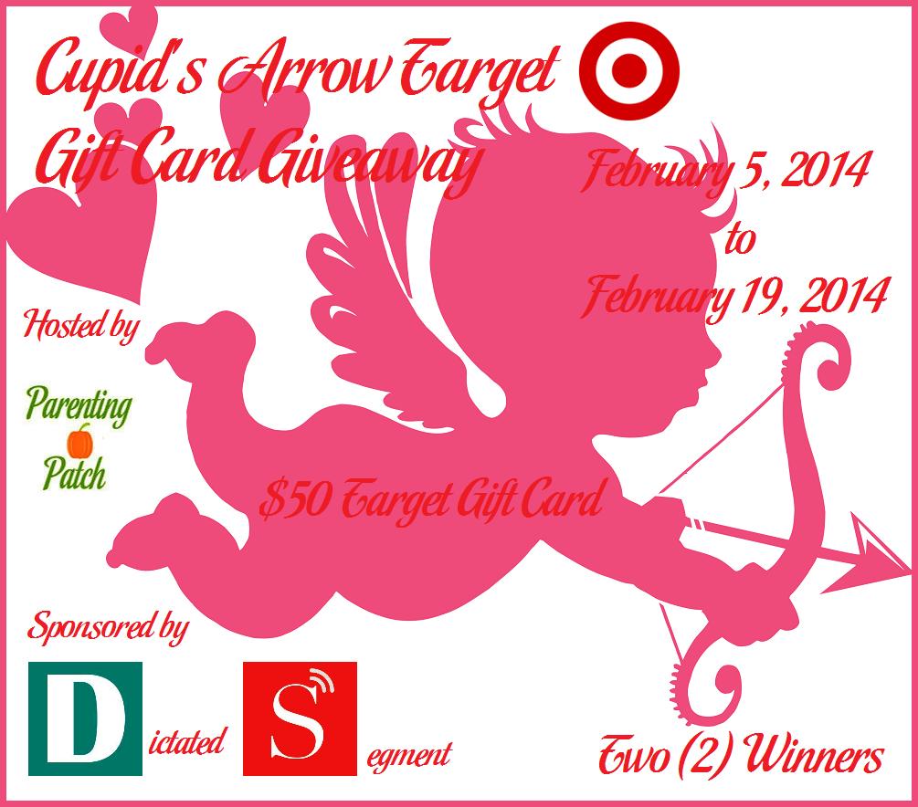 Cupid's Arrow Target Gift Card giveaway