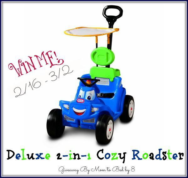 Deluxe 2 in 1 Cozy Roadster Giveaway