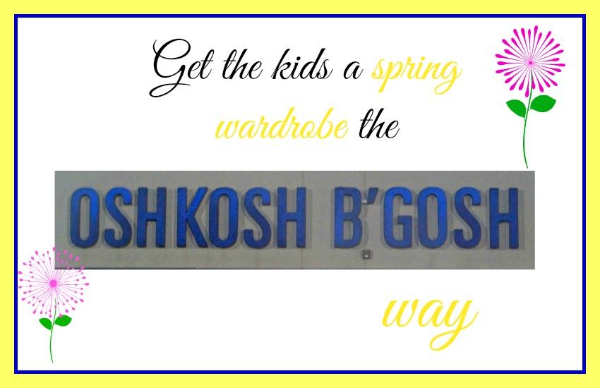 OshKosh B'gosh, #sponsored, #MC
