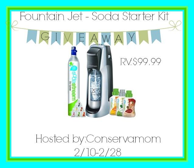 FOuntain Jet - Soda Starter Kit