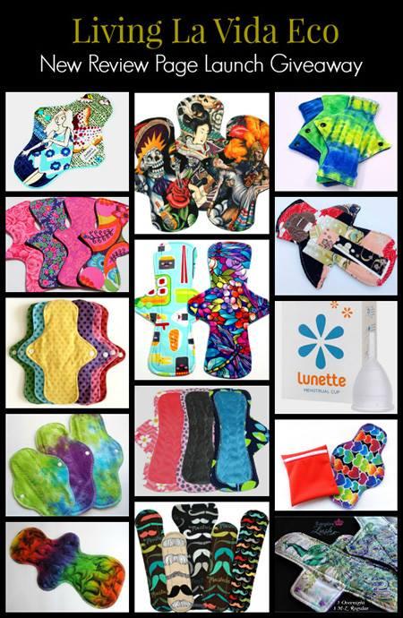 Cloth pad giveaway