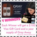 $100 Visa #giveaway 4 winners!