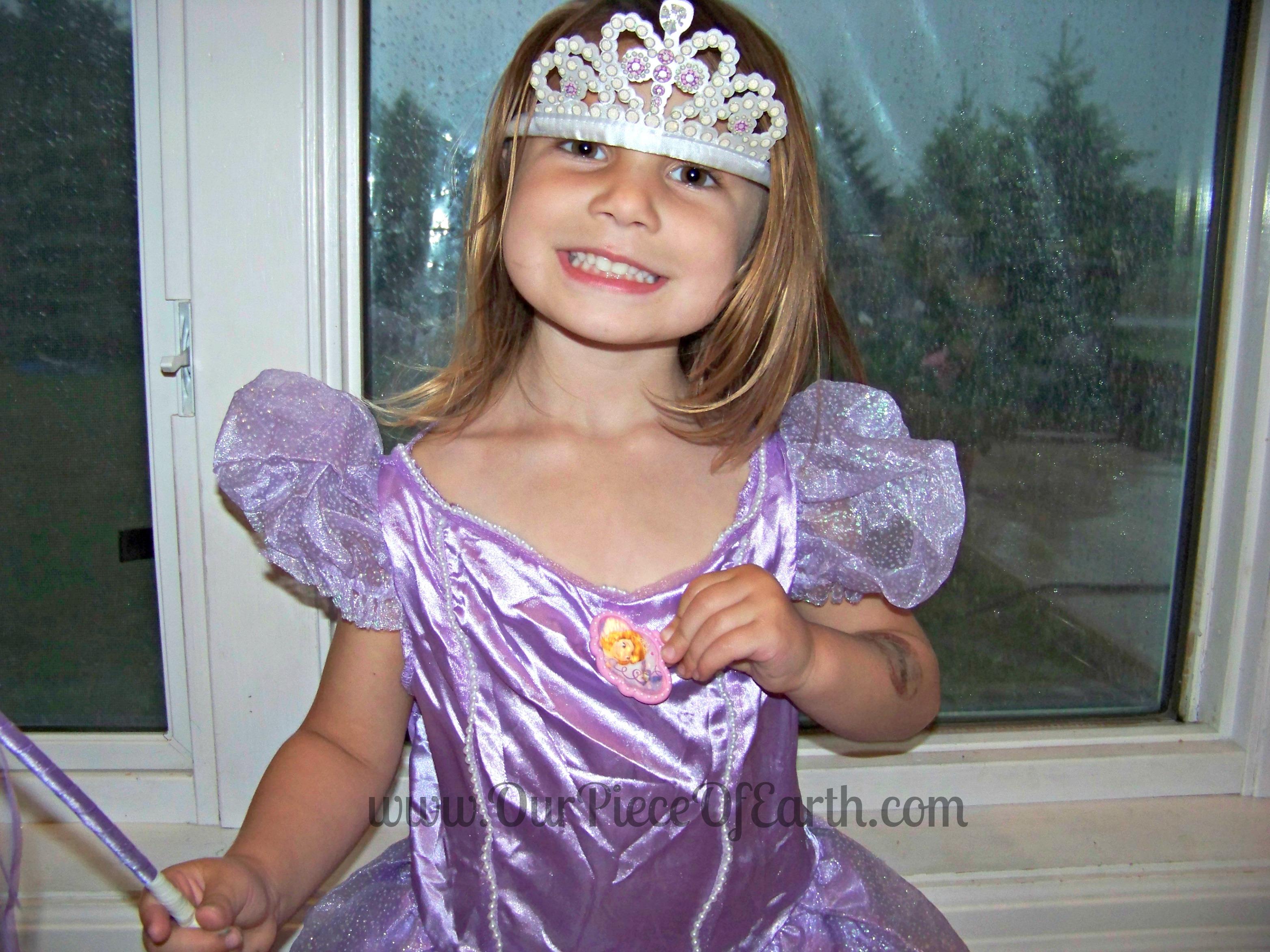 Sofia the 1st girls costume