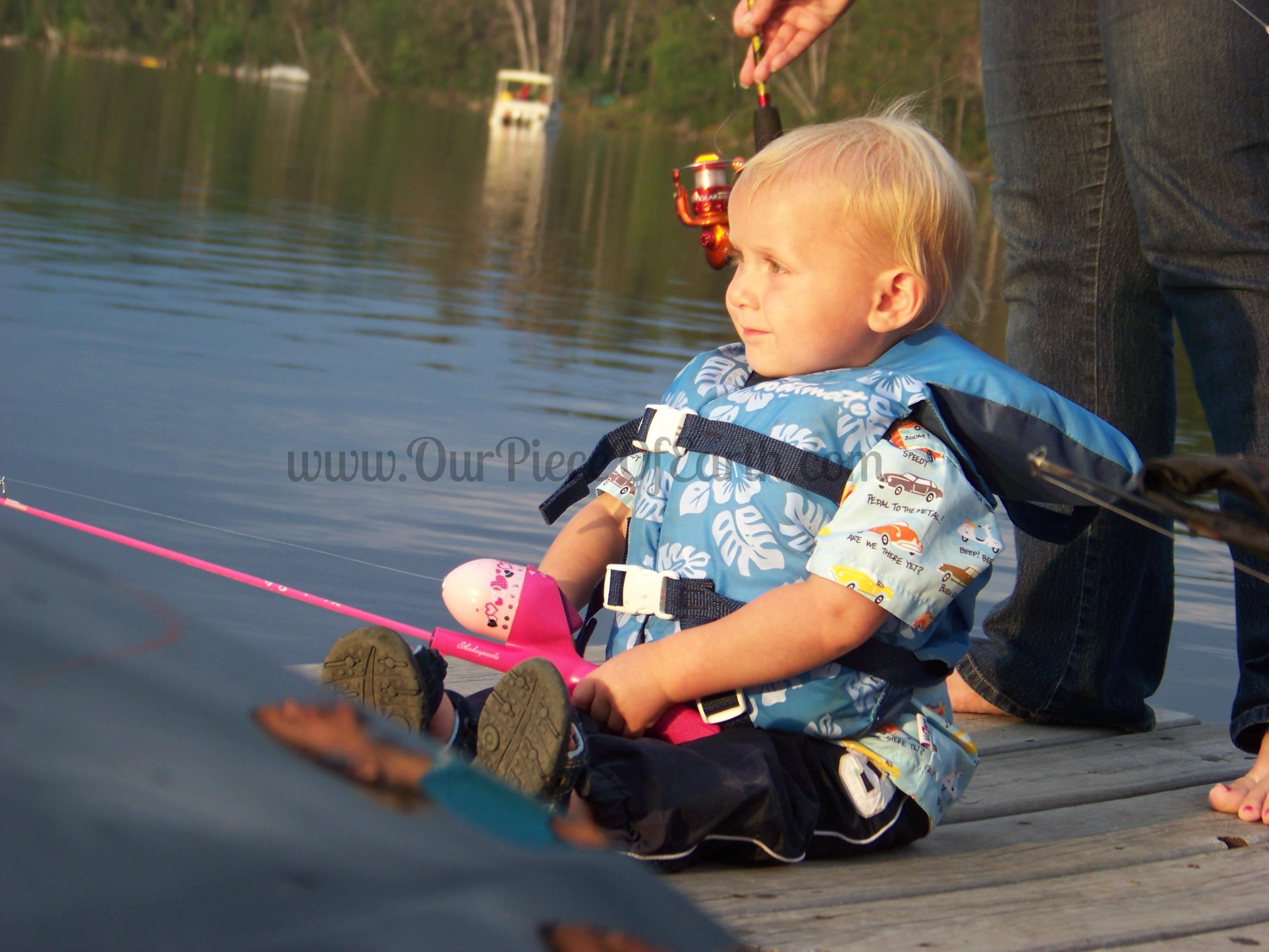Charlie fishing