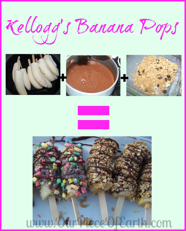 #shop #cbias #goodnightsnack Kellogg's Banana Pops