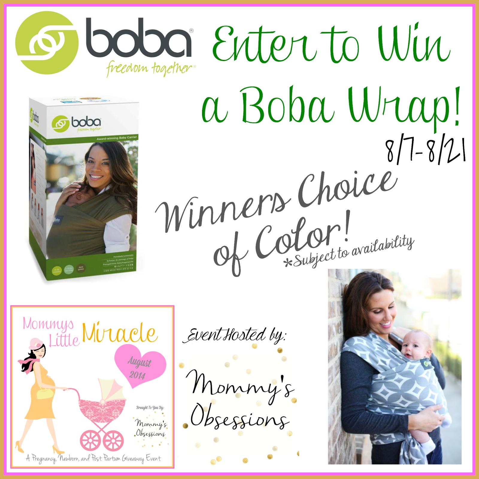 Boba Wrap Giveaway