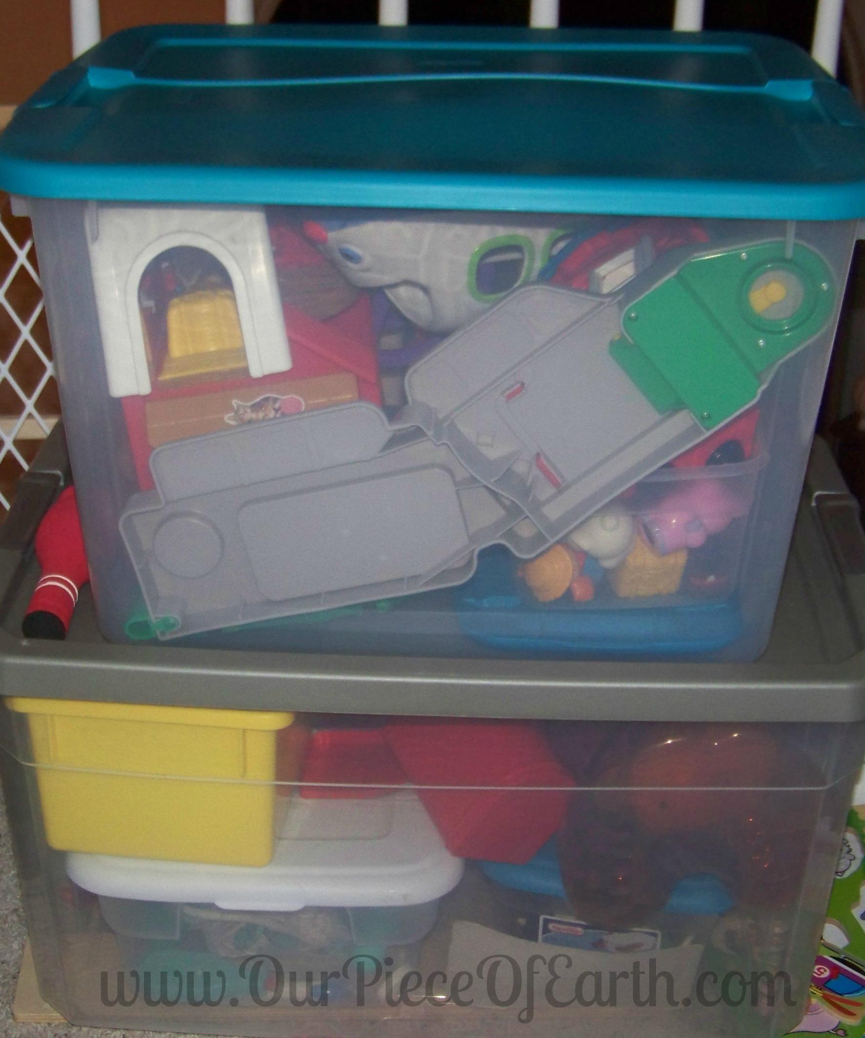 DeClutter Toy Room