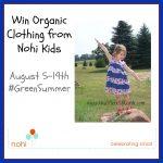 #Win an Organic Cotton Bodysuit or Dress from Nohi Kids #GreenSchool