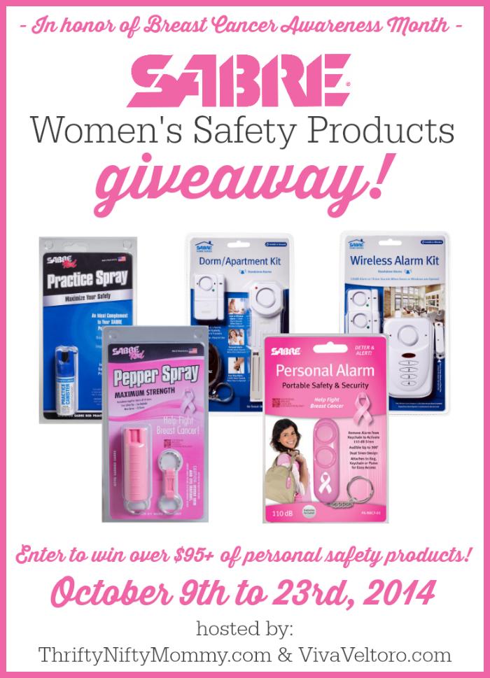 Sabre Womens Giveaway