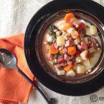 Ham, Kale and Navy Bean Stew