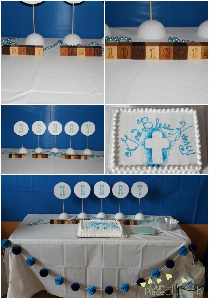 baptism decorations