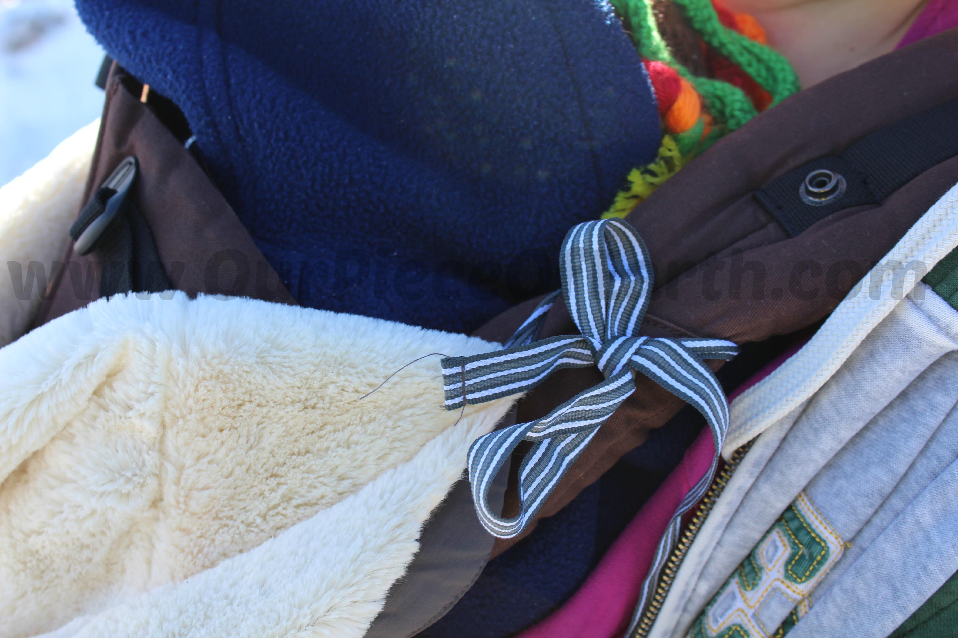 winter babywearing gear