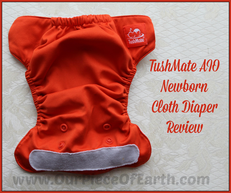 Tushmate Newborn Cloth Diaper