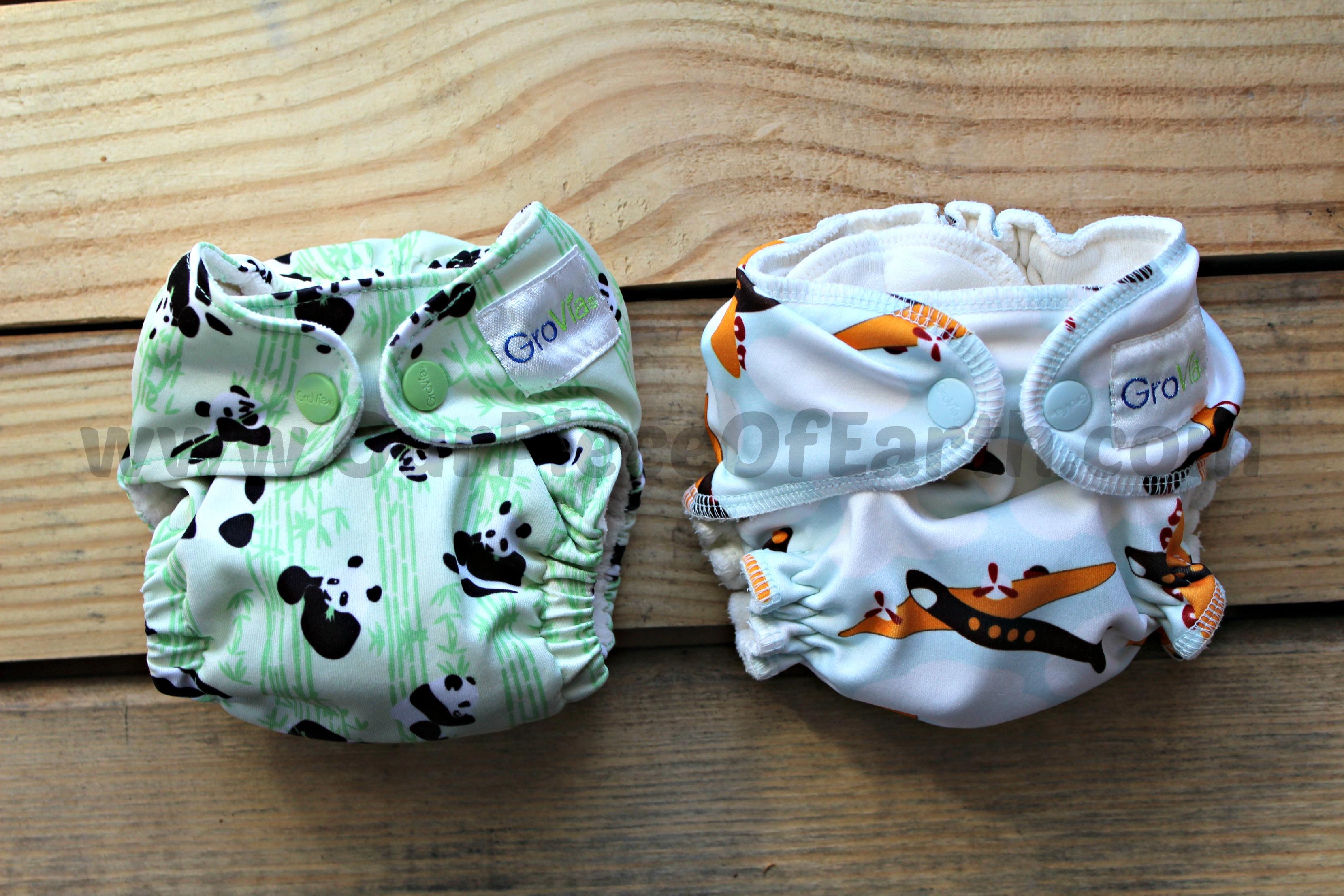 Find an adjustable newborn cloth diaper