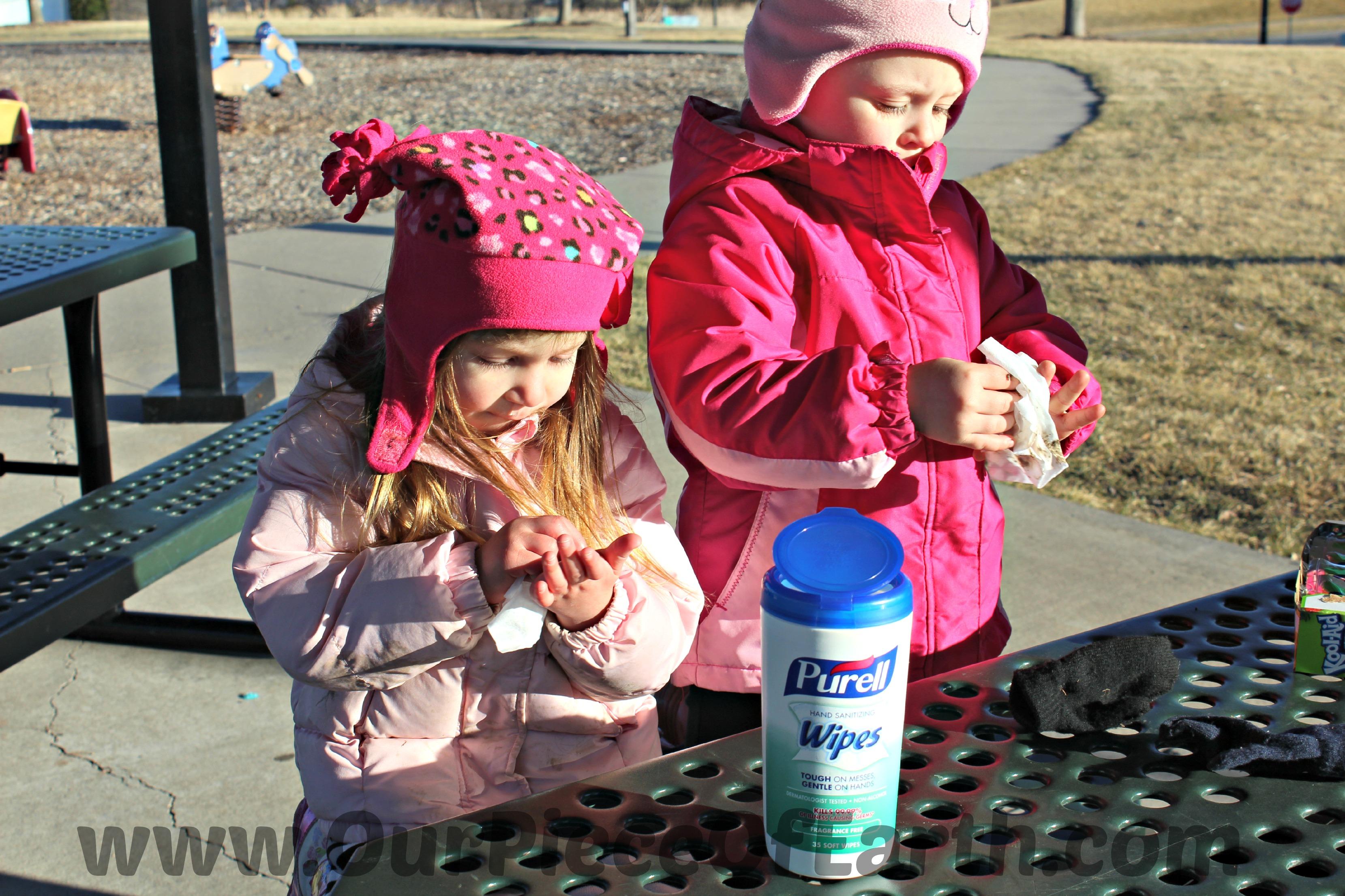 Purell Girls Washing Hands