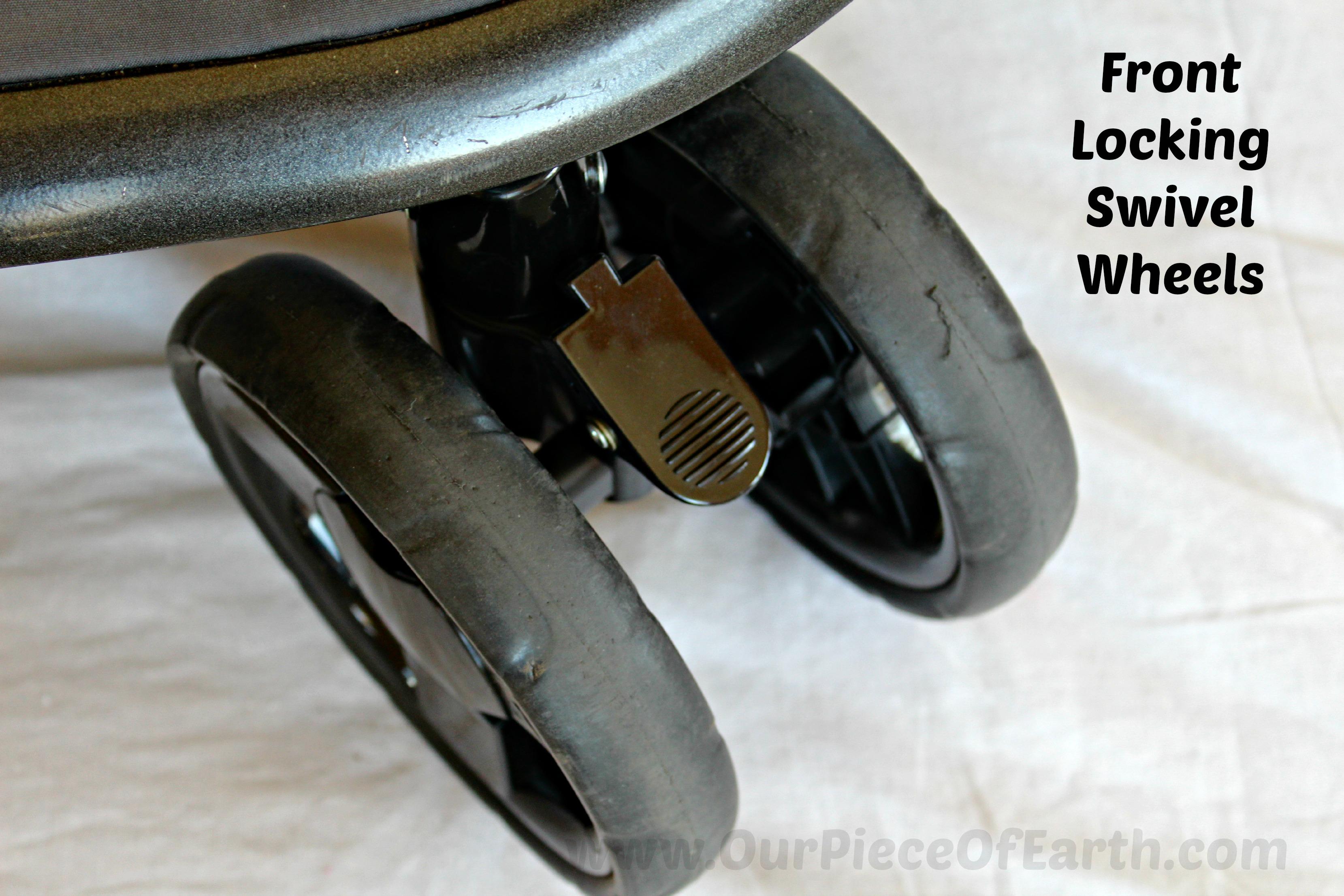 Combi Front Locking Swivel Wheels