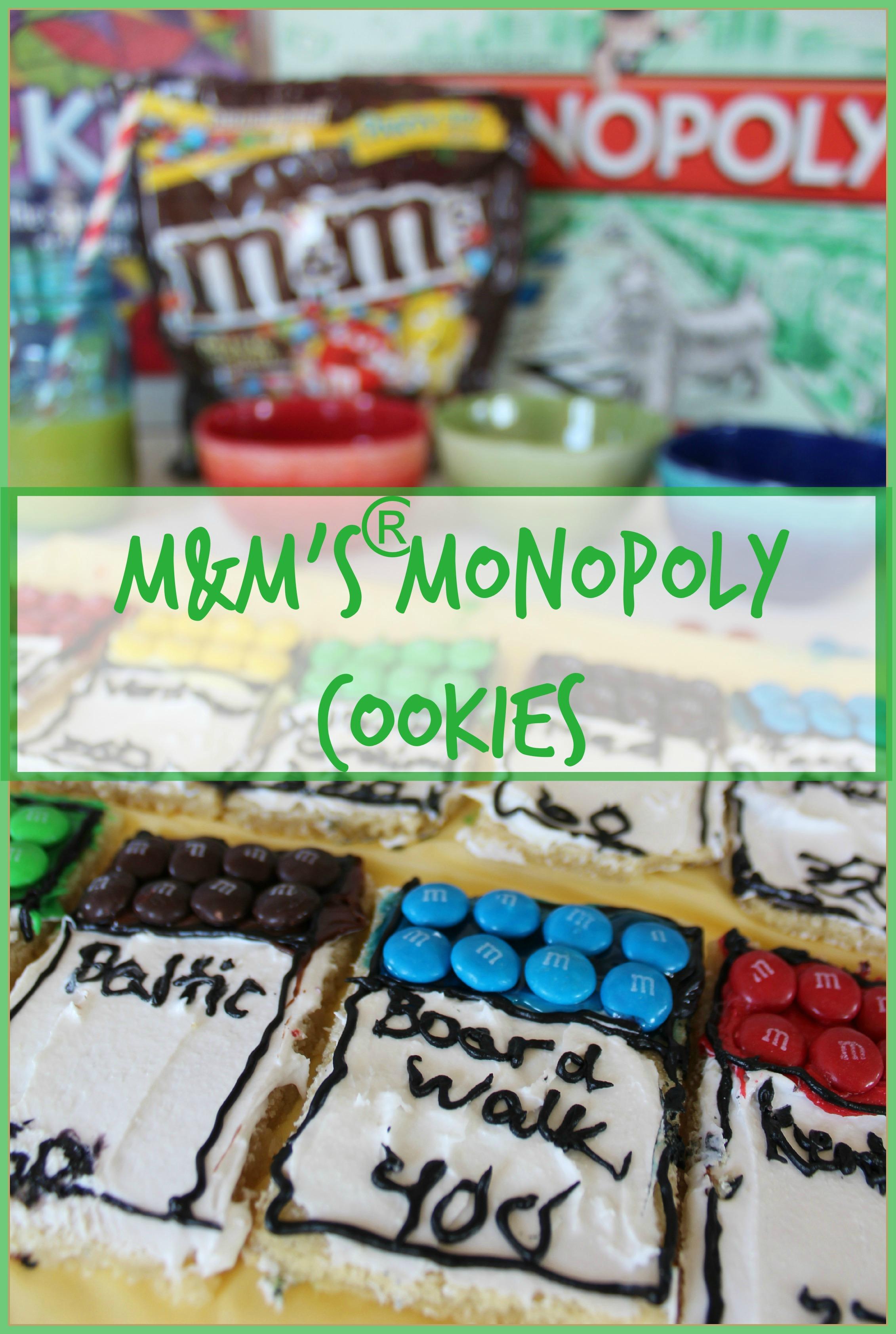 M&M's®  Monopoly Cookies