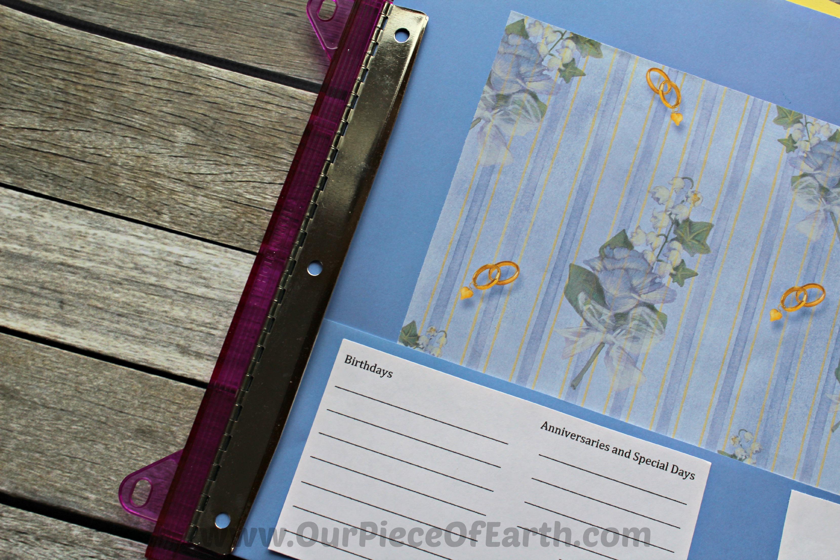 Greeting Card Organizer Step 8