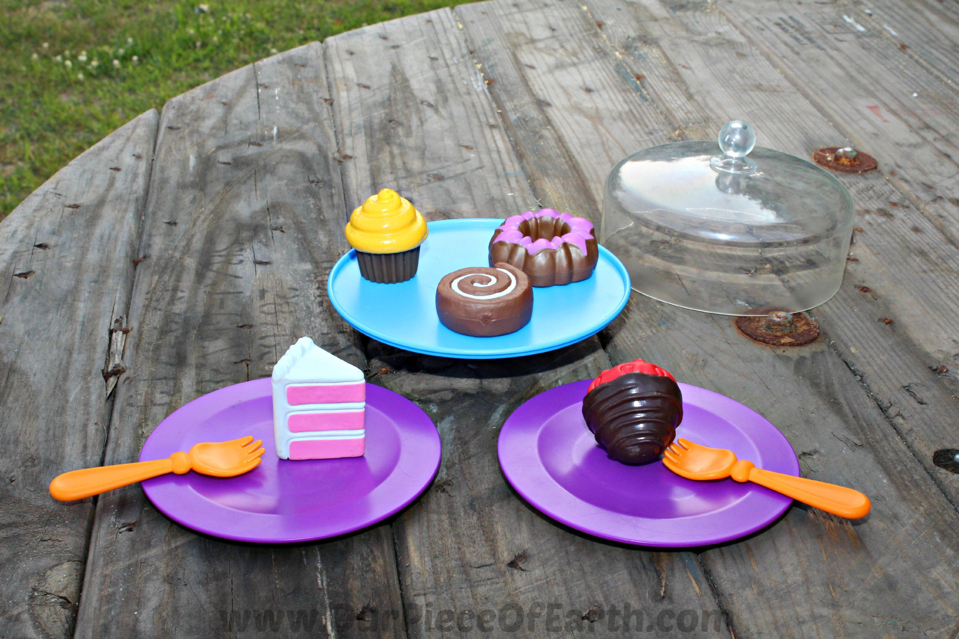 Just Desserts served