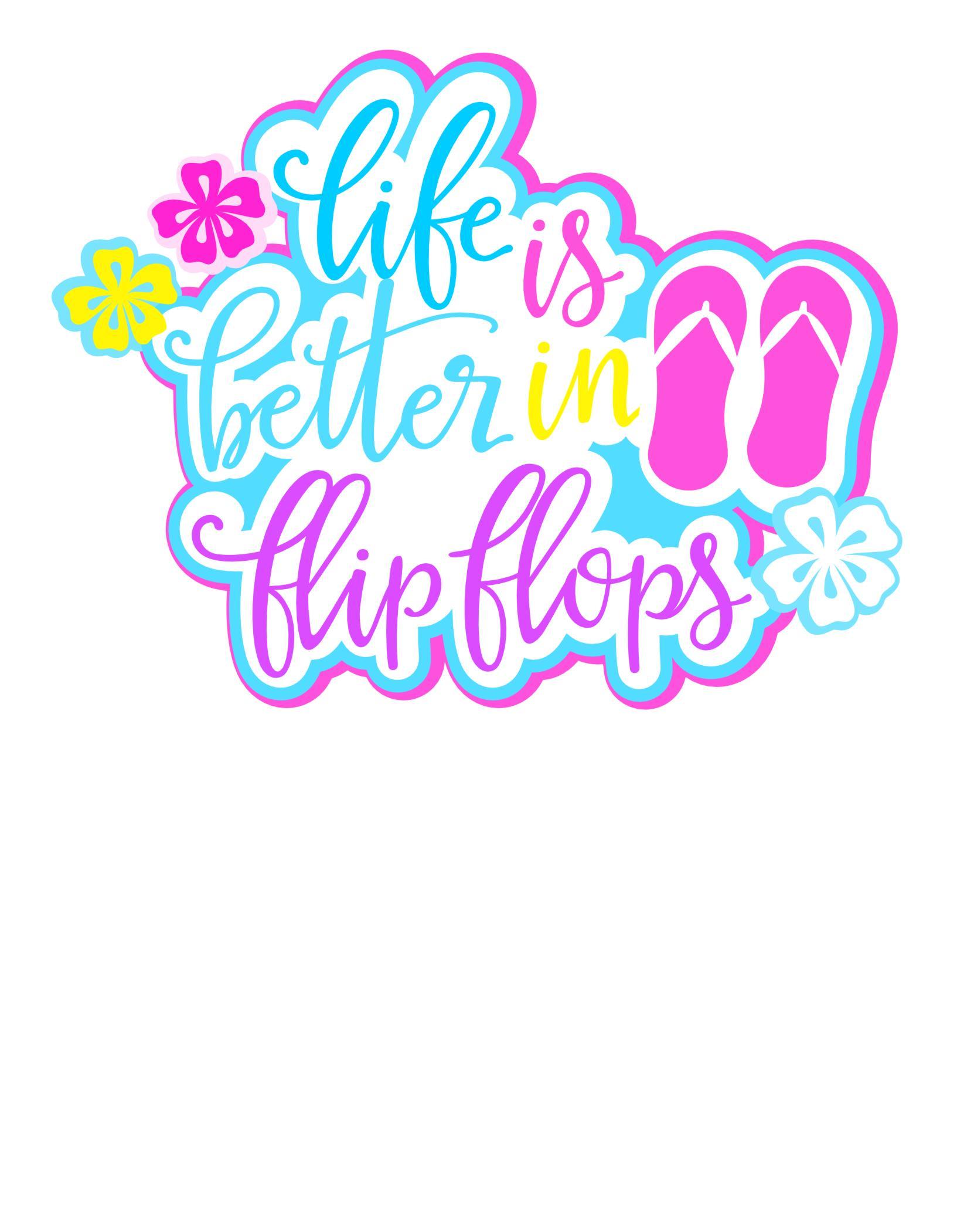 FREE Flip Flop Sign printable