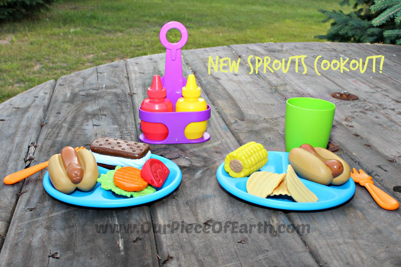 New Spouts Cookout Set