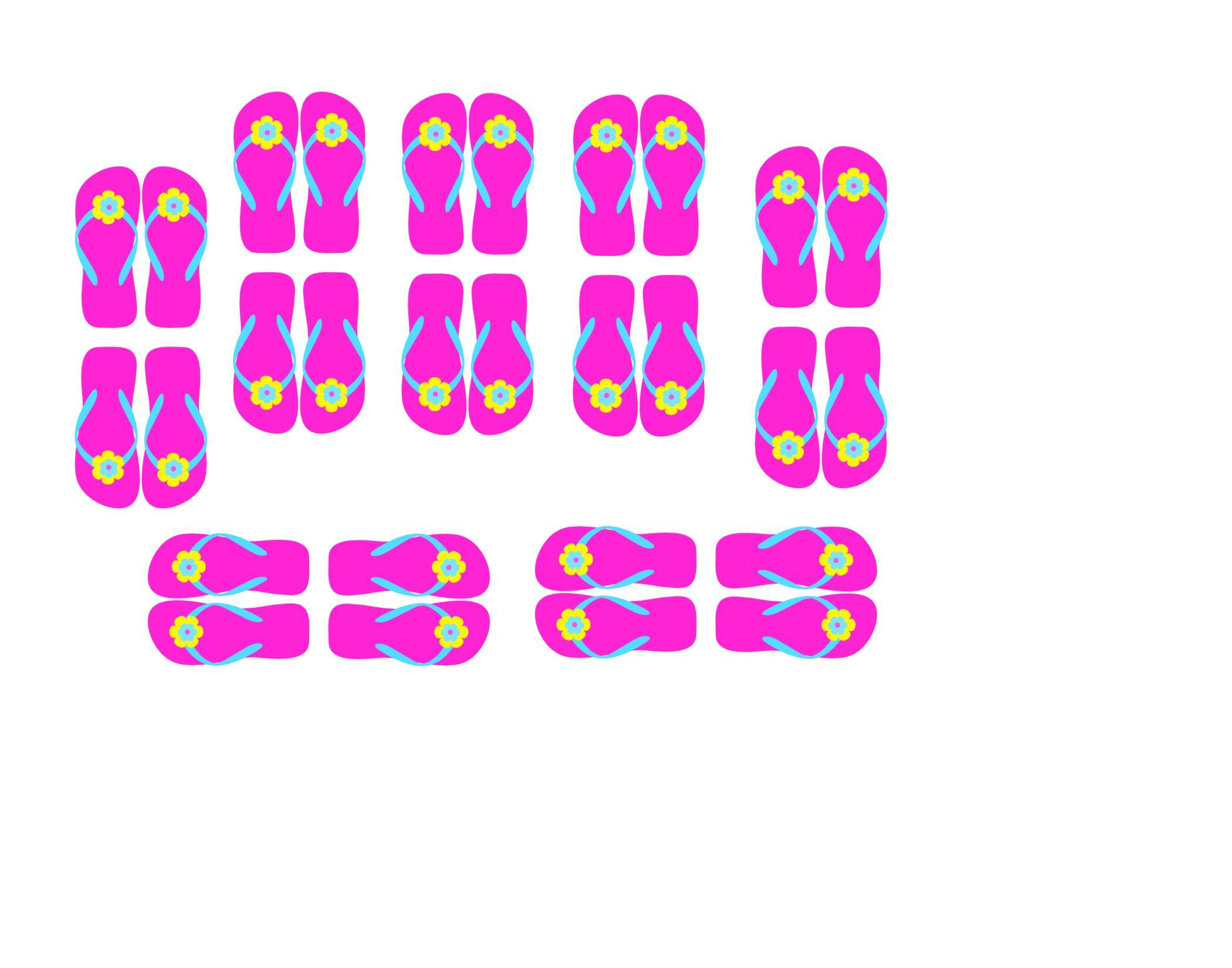FREE pink cupcake topper printable