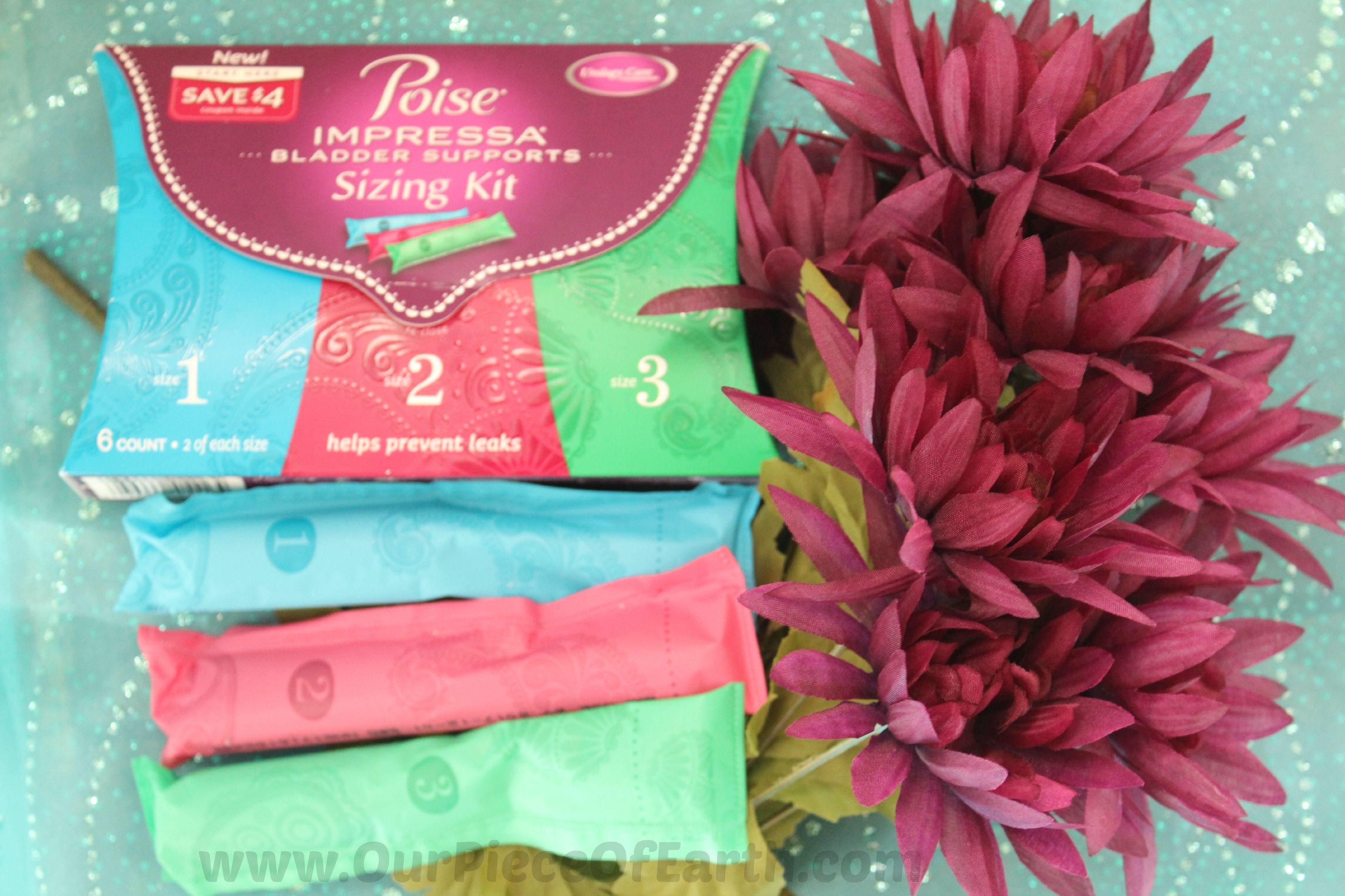 Stop bladder leakage with Poise Impressa